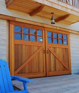 Residential door barn style
